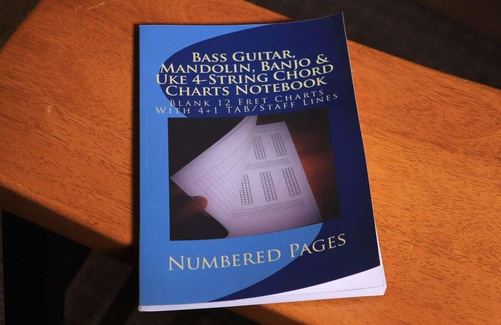 Uke 4 String ChordChartsNotebook
